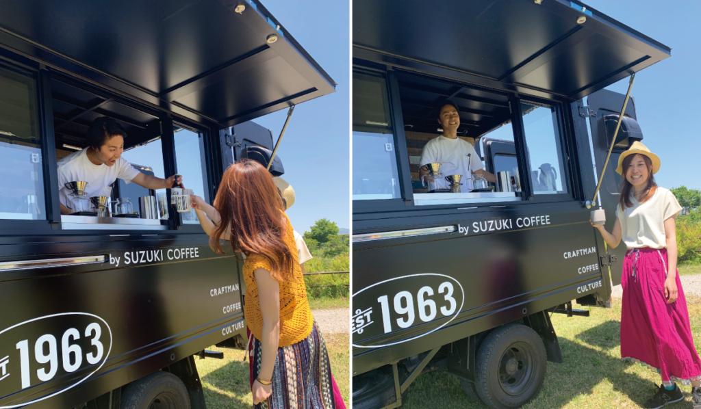 コーヒー移動販売車,スノーピーク