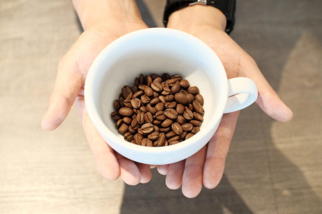 ミントコーヒー淹れてみた!