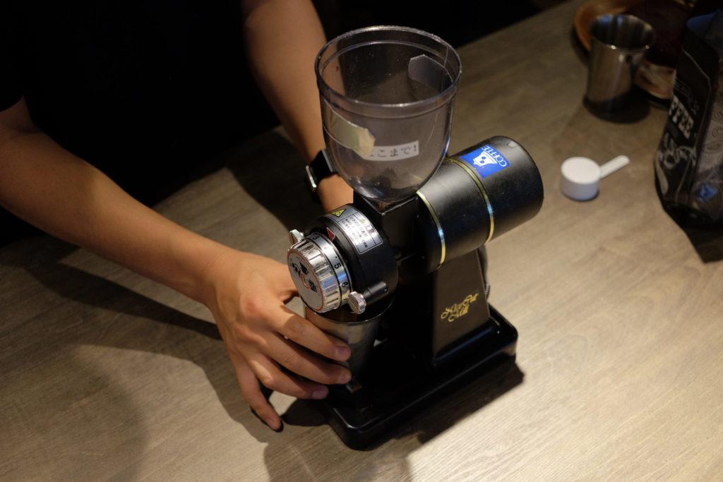 コーヒーミル分解清掃