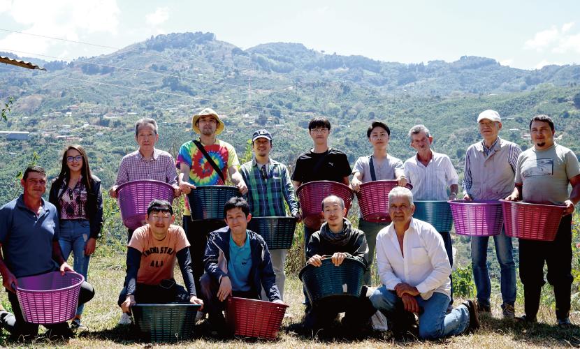 コスタリカ プエンテタラス マイクロミル 収穫体験