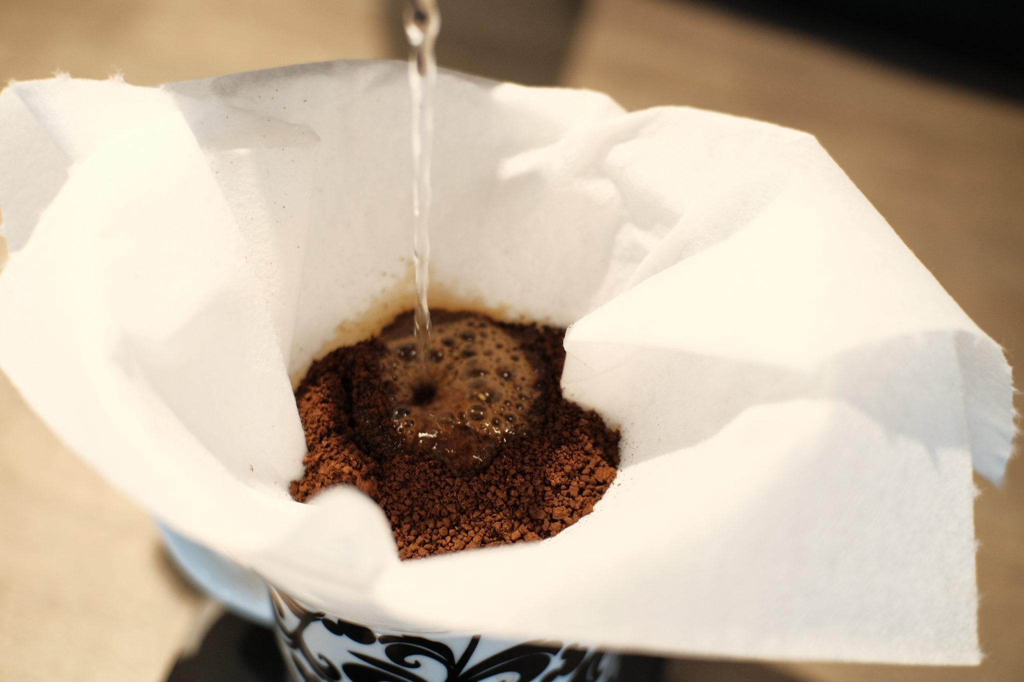 家にあるものでコーヒー淹れてみた!