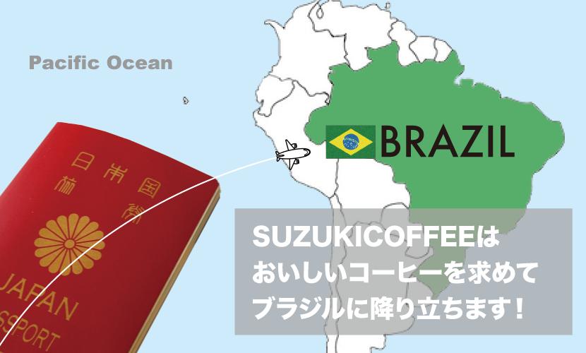 ブラジル,農園視察