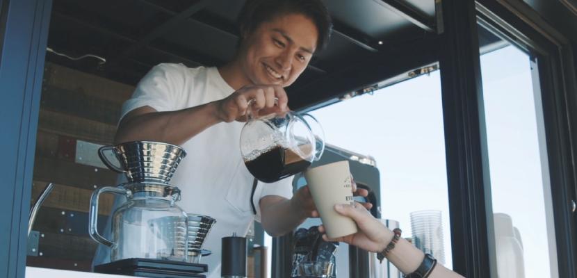 コーヒー,移動販売車
