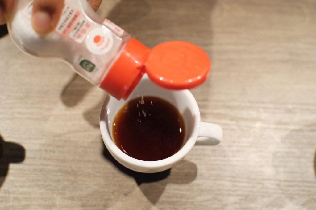 コーヒーと様々な出汁を合わせてみた!