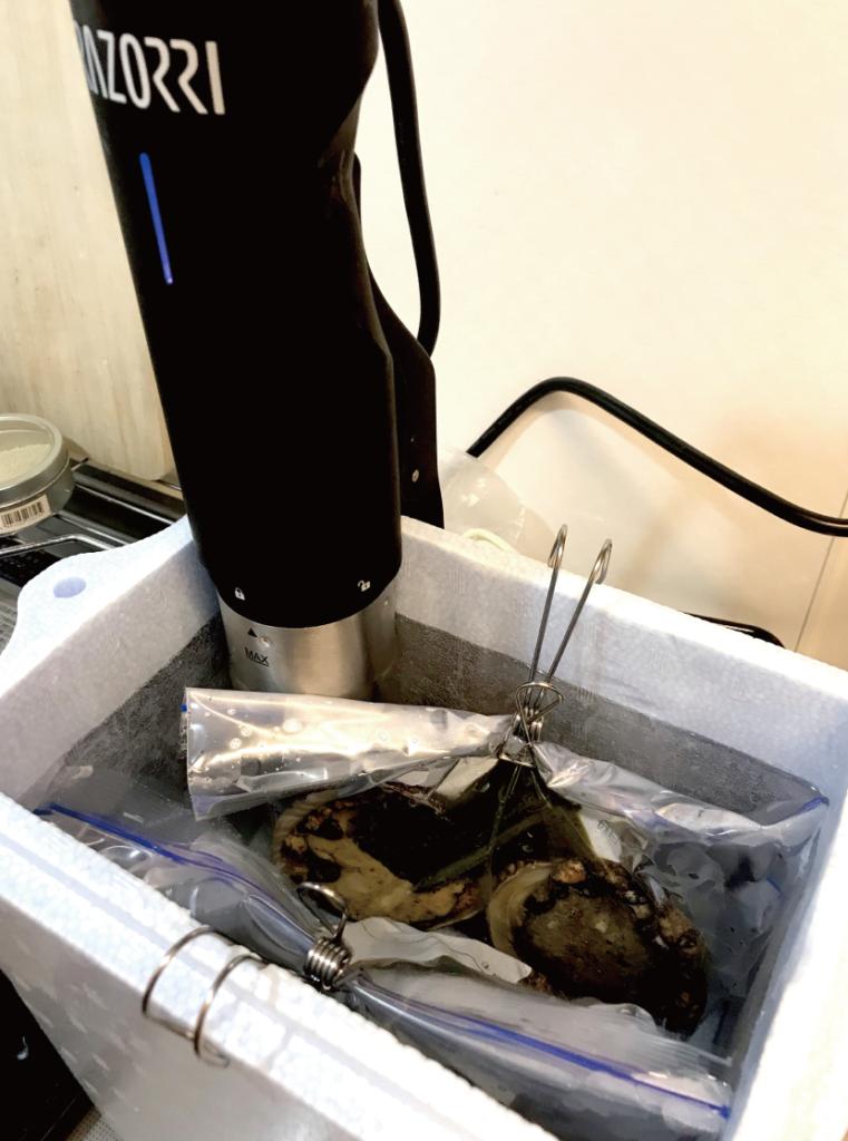 [ Green × Coffee…& Seafood vol.3 ]コーヒーカスを肥料として育てたバジルでブルゴーニュバター!!