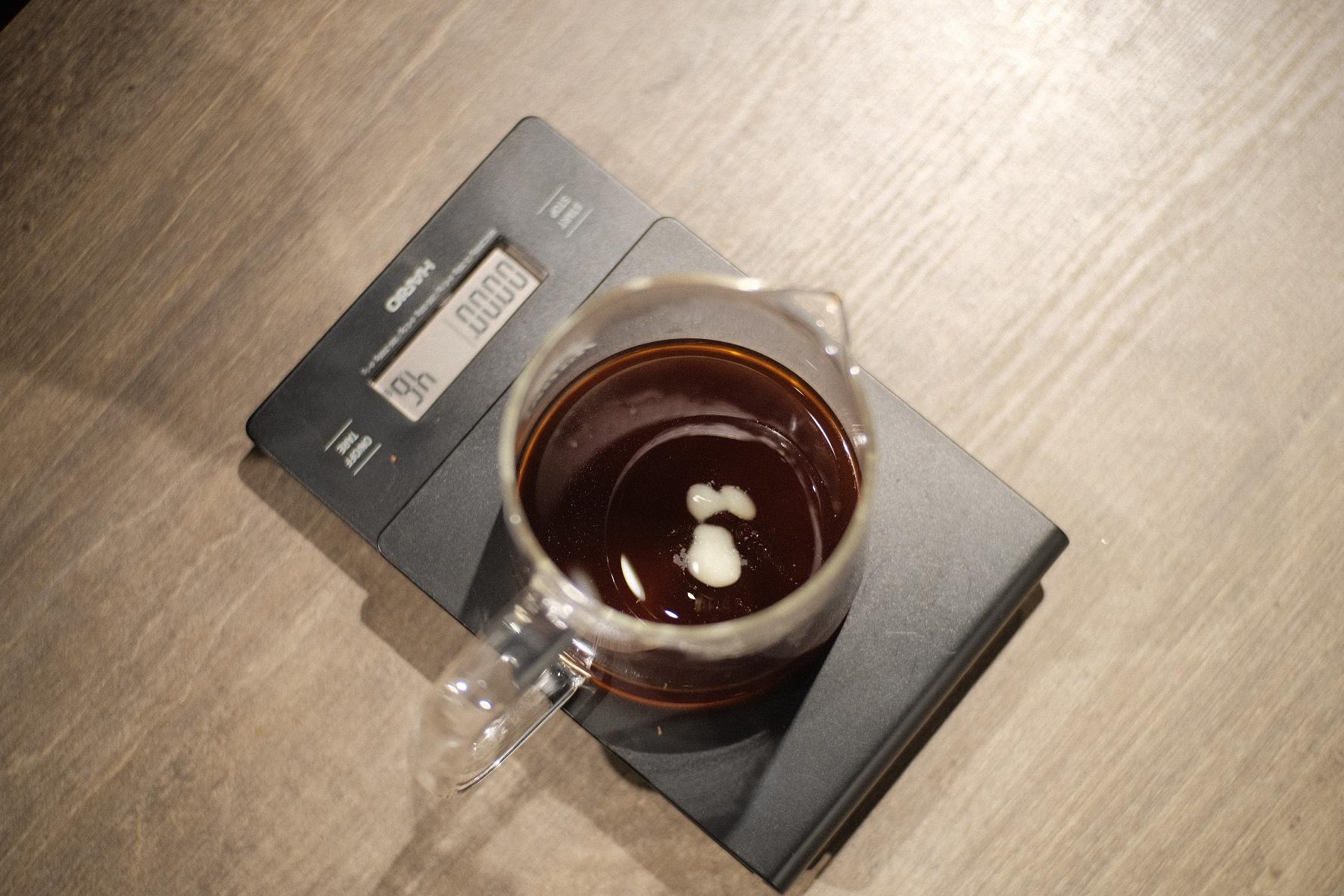 バターコーヒー作り